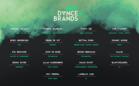 An overview of the ADE Dance & Brands program