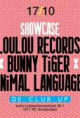 Loulou records x Bunny Tiger x Animal Language Showcase