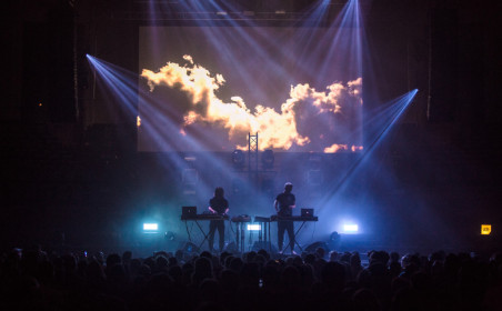 Go South to see the large-scale ADE events